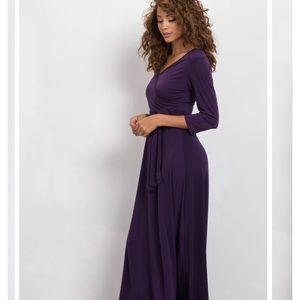 BRAND NEW PURPLE MAXI DRESS